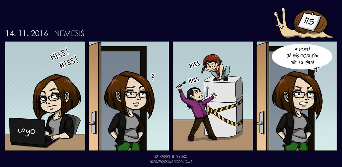 Komiks 115: Nemesis