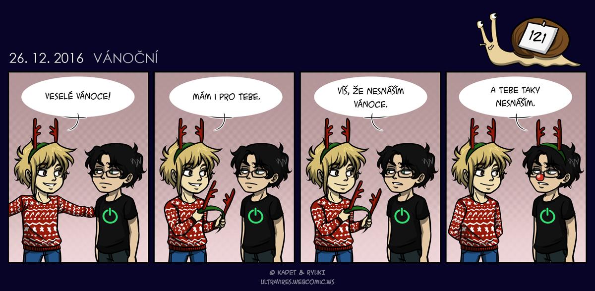 Komiks 121: Vánoční