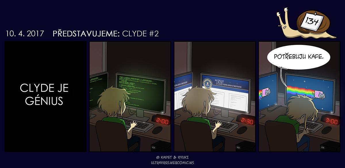 Komiks 134: Představujeme: Clyde #2