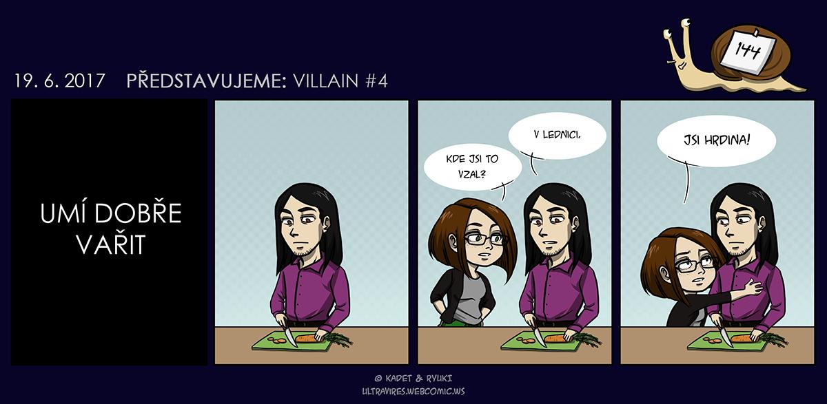 Komiks 144: Představujeme: Villain #4